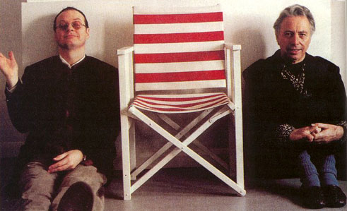 Andy Partridge con Harold Budd
